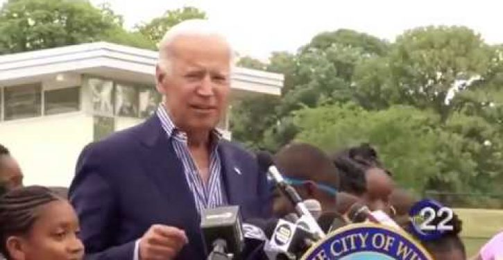When asked why Obama didn't restock N95 masks, Biden distances himself from administration