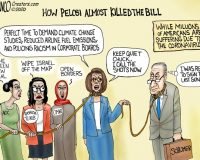 Cartoon of the Day: The Pelosi Doesn't CARE Act