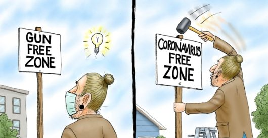 Cartoon of the Day: #CornavirusCure by A. F. Branco
