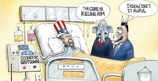 Cartoon of the Day: Bedside manners by A. F. Branco