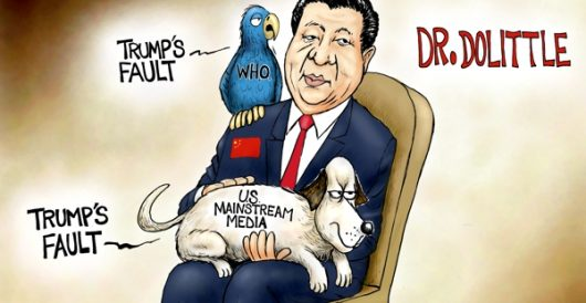 Cartoon of the Day: Stupid pet tricks by A. F. Branco