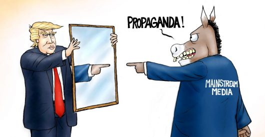 Cartoon of the Day: Man in the mirror by A. F. Branco