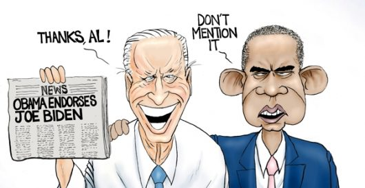 Cartoon of the Day: Best buds by A. F. Branco
