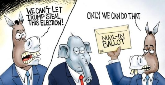 Cartoon of the Day: Mail fraud by A. F. Branco