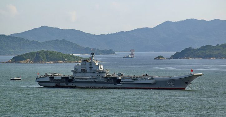 CNN reports Chinese naval movements like a Cold War Soviet satellite reporting the latest political edicts from Moscow