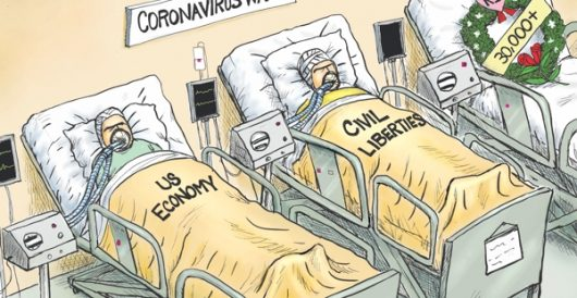 Cartoon of the Day: Critical condition by A. F. Branco