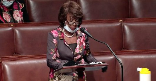 Maxine Waters claims Trump wants economy open so he can hold 'white power pep rallies' by Joe Newby