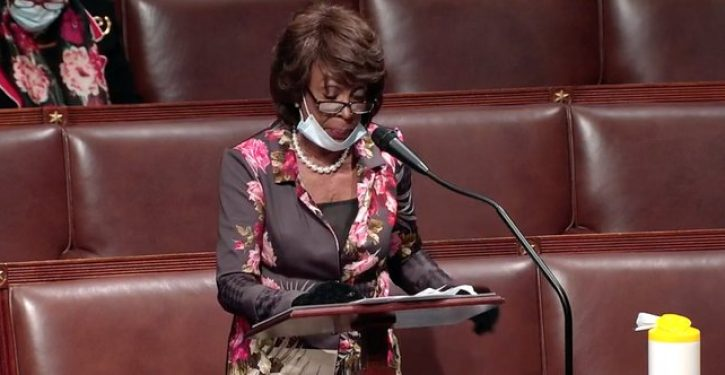 House's failure to censure Maxine Waters shows why filibuster so sorely needed