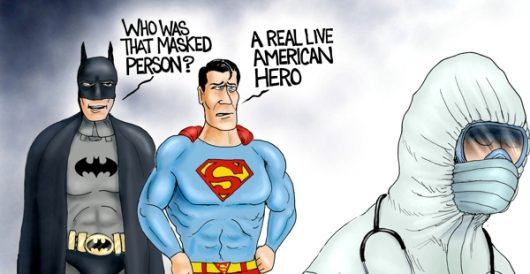 Cartoon of the Day: Heroes in our midst by A. F. Branco