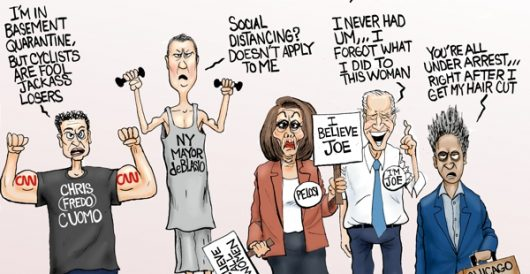 Cartoon of the Day: Hypo-Left by A. F. Branco