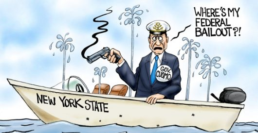 Cartoon of the Day: Captain Love Gov by A. F. Branco