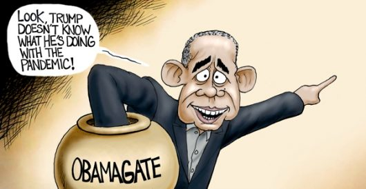 Cartoon of the Day: Diversionary tactics by A. F. Branco