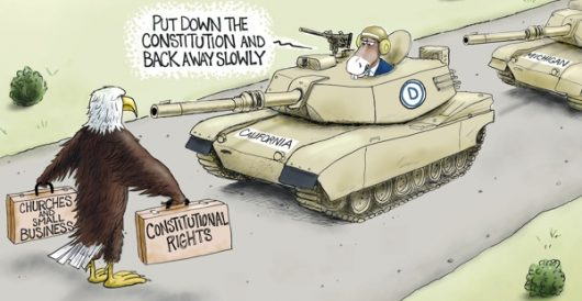 Cartoon of the Day: Stand your ground by A. F. Branco