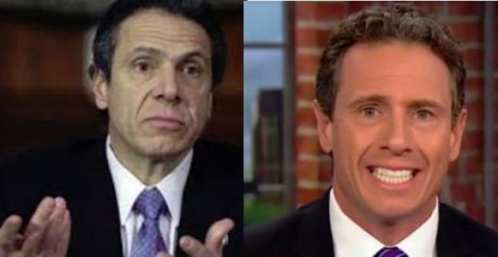 CNN says it reinstated a ban on Chris Cuomo covering his brother, Gov. Cuomo