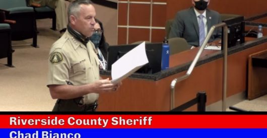 California sheriff in major county refuses to enforce coronavirus stay-at-home order by J.E. Dyer