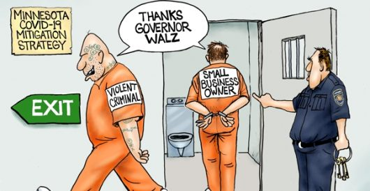 Cartoon of the Day: Jail break by A. F. Branco