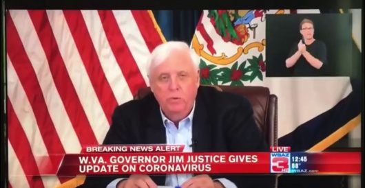 Did he or didn't he? W.Va. gov denies dropping f-bomb at presser by Ben Bowles
