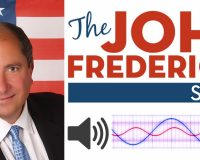 MAGA Radio Star Explains 'Jan. 6 Flag' Controversy at VA Rally