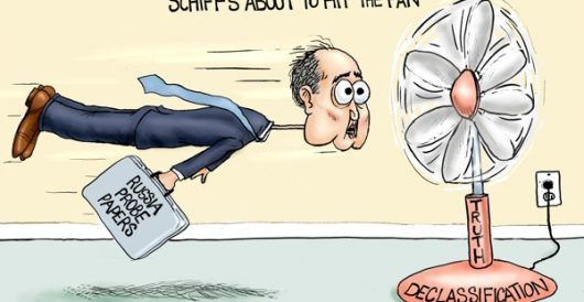 Cartoon of the Day: Adam Schiff's biggest fan by A. F. Branco