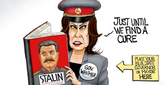 Cartoon of the Day: Supreme Leader by A. F. Branco
