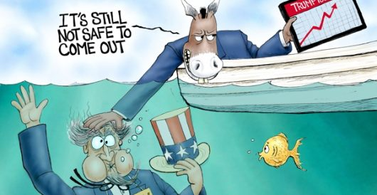 Cartoon of the Day: Underwater by A. F. Branco