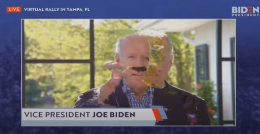 Joe Biden's virtual Tampa rally video has to be seen to be believed by LU Staff