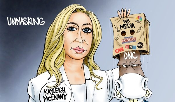 Cartoon of the Day: Unmasking by A. F. Branco