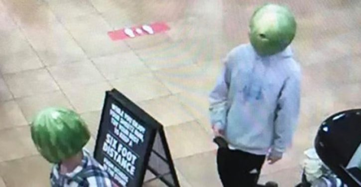 Virginia liquor store thieves wore watermelons on their heads as disguise