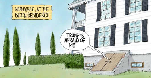 Cartoon of the Day: Hide and seek by A. F. Branco