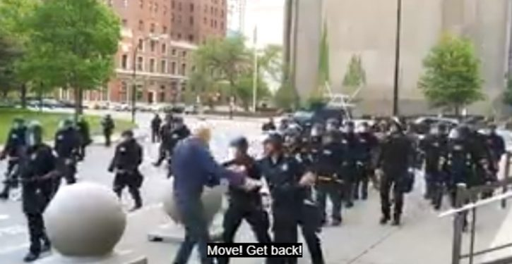 Buffalo: Entire police team resigns over suspension of officers who pushed old man