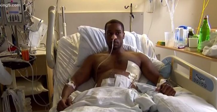 Man shot in CHOP wants to sue cops for not responding: Just one problem