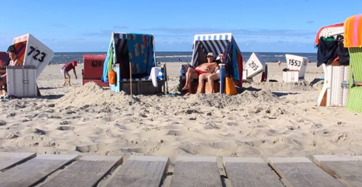 German beach resort bans morbidly obese guests