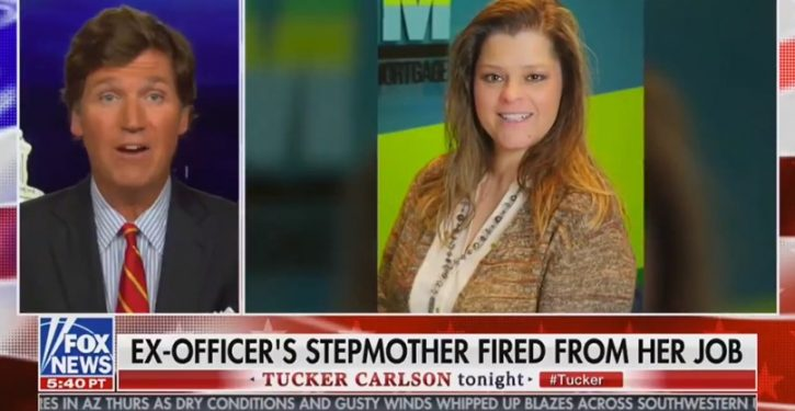 Why was stepmother of cop charged in Rayshard Brooks shooting fired from her job?