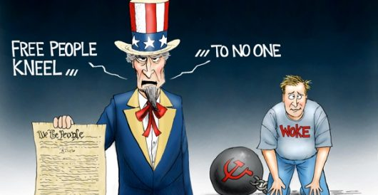 Cartoon of the Day: Stand for freedom by A. F. Branco