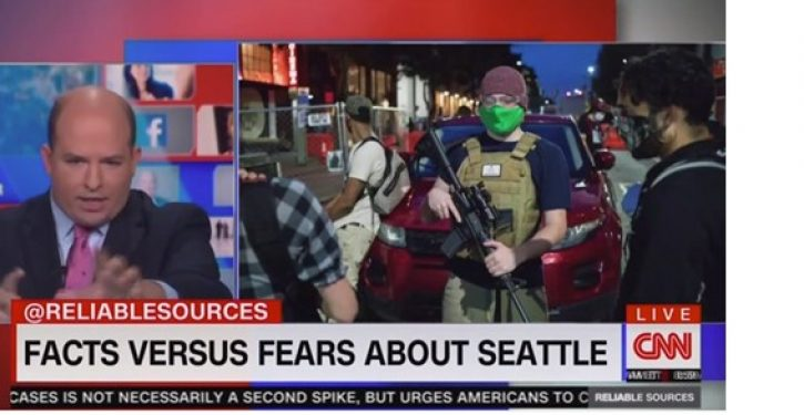 CNN's Stelter: What's the big deal? Seattle Autonomous Zone 'a small part of a big city'