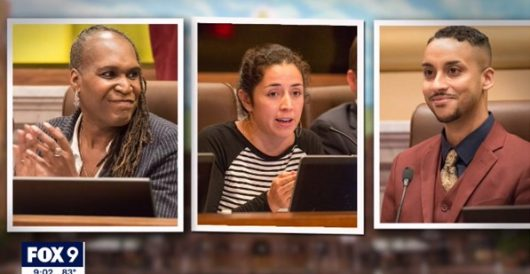 What happens when Minneapolis Council members, who favor defunding police, receive threats? by Howard Portnoy