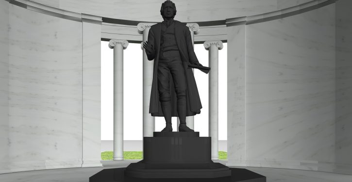 I'm a direct descendant of Thomas Jefferson. Take down his memorial.