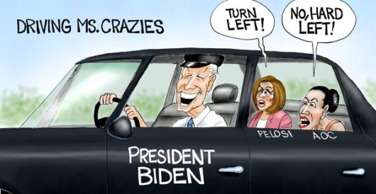 Cartoon of the Day: Driving while indoctrinated by A. F. Branco