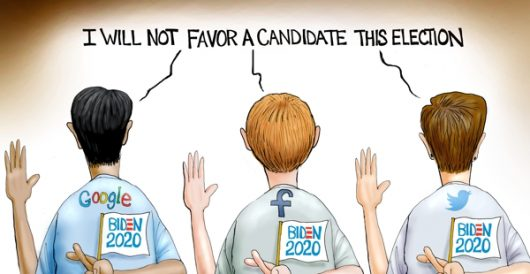 Cartoon of the Day: In-kind campaign donors by A. F. Branco