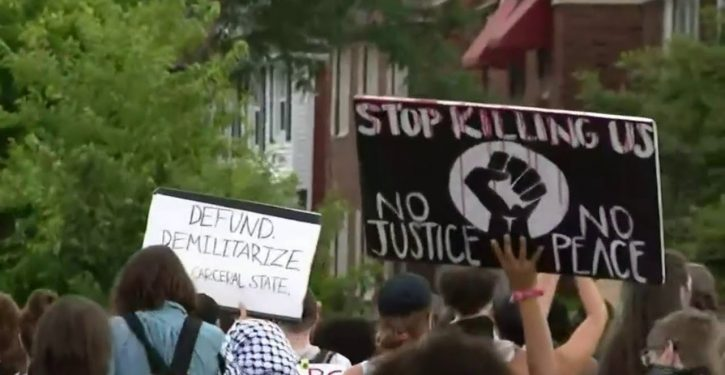 New wave of protests over latest police shooting despite its being wholly justified