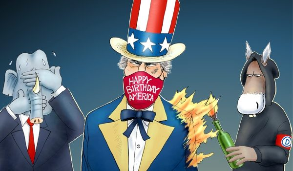 Cartoon of the Day: Americas Freedoms Matter by A. F. Branco