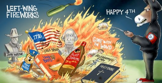 Cartoon of the Day: Anti-Independence Day by A. F. Branco