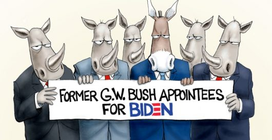 Cartoon of the Day: Bush league by A. F. Branco