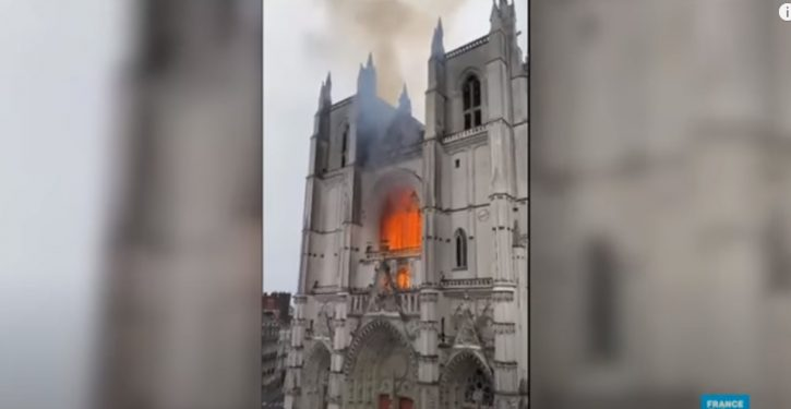 France: Fires in historic Cathedral of Nantes being investigated as arson