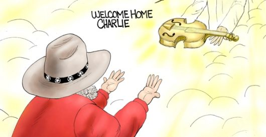 Cartoon of the Day: Charlie Daniels tribute by A. F. Branco