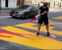 New York's de Blasio admits BLM got special treatment for street painting without permits