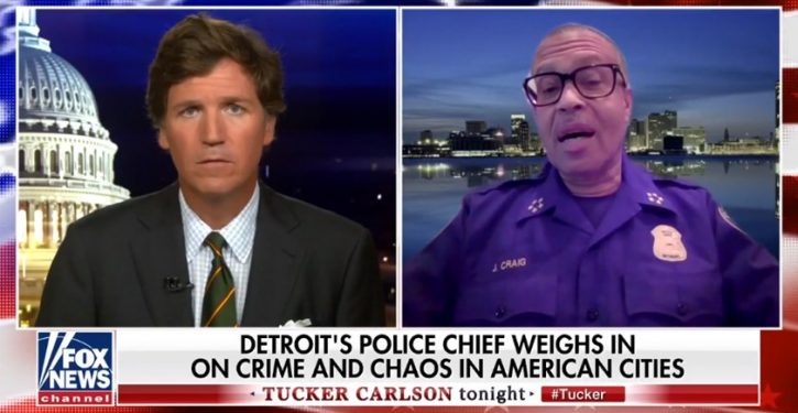 Detroit police chief: We kept peace during protests because we didn't cede ground to radicals