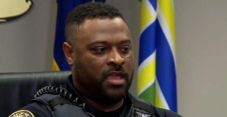 VIDEO: Black police officer blasts arrogance, ignorance, bigotry of white 'BLM' activists