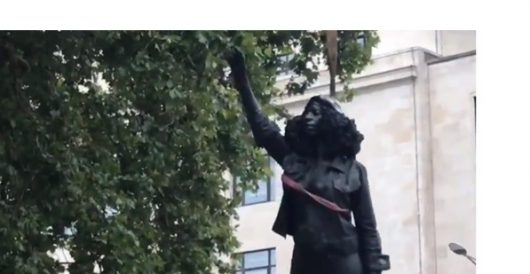 What happens when activists replace a 'problem' statue with one of a BLMer? by Guest Post
