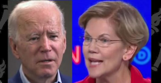Elizabeth Warren to black man: 'Your life depends' on Biden winning in 2020 by LU Staff